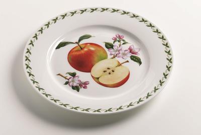 Talíř mělký ORCHARD FRUITS 27,5 cm - jablko, Maxwell & Williams