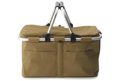 Nákupní taška/košík HANDY SHOPPER taupe, Maxwell & Williams