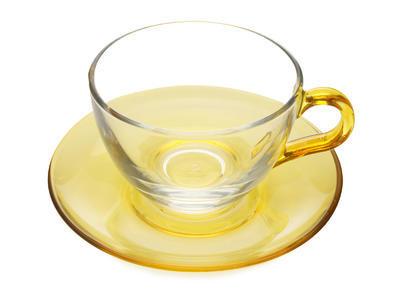 Cappuccino šálek s podšálkem 250 ml žlutá ACROBALENO, Maxwell & Williams