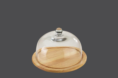 Prkénko na sýr s poklopem  30 cm, Zassenhaus