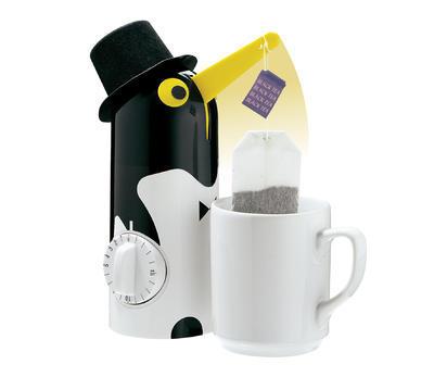Minutka s vytáhnutím čaje TEA-BOY Tučňák 21 cm, Küchenprofi
