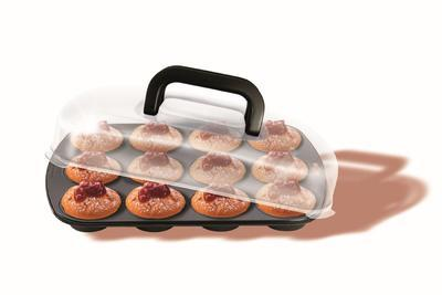 Forma na muffini s víkem BAKE&TAKÉ, Kaiser