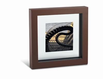 Fotorámeček hnědý 9x9cm VIEW, Philippi