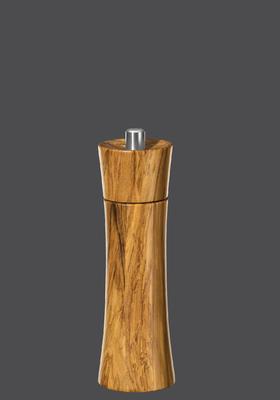 Mlýnek na pepř FRANFURKT olivové dřevo 18 cm, Zassenhaus