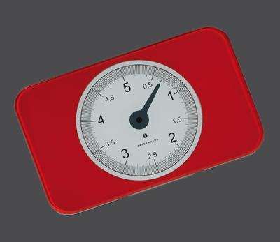 Digitální váha SCALE červená, Zassenhaus