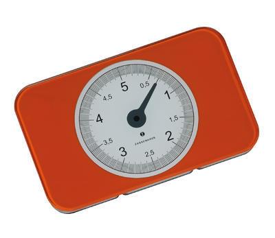 Digitální váha SCALE oranžová, Zassenhaus