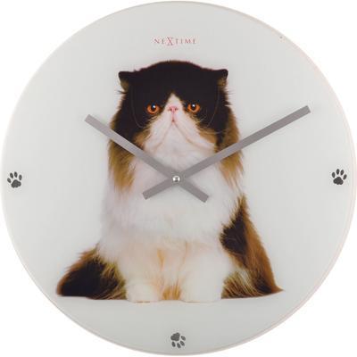 Nástěnné hodiny SYLVESTER kočka 43 cm, Nextime