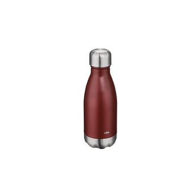 Termolahev ELEGANTE 250ml, červená, matná, Cilio