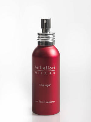 Osvěžovač vzduchu do auta ICING SUGAR 50 ml - Red, Millefiori