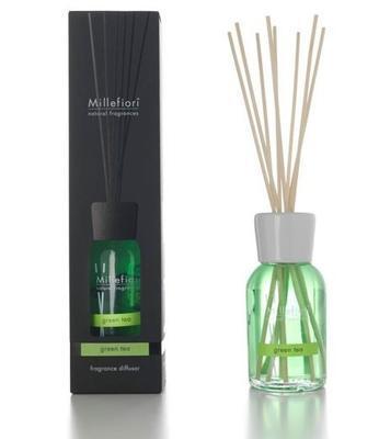 Aroma difuzér NATURAL FRAGRANCES 250 ml - Green Tea, Millefiori