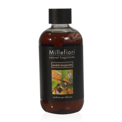 Náplň do difuzéru NATURAL FRAGRANCES Sandalo Bergamotto 250 ml, Millefiori