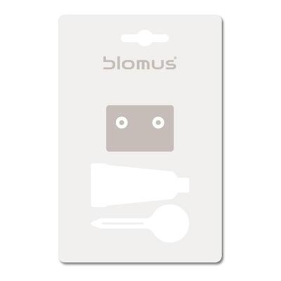 Montážní sada na stěnu bez vrtání, Blomus
