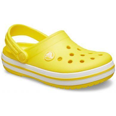Dětské boty CROCBAND Clog Yellow/White vel. 33-34, Crocs