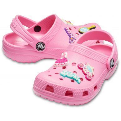 Dětské boty CLASSIC CHARM Clog K Pink Lemonade vel. 34-35, Crocs