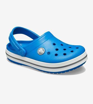 Dětské boty CROCBAND Clog Light Blue/White vel. 33-34, Crocs