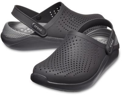 Boty LITERIDE CLOG M9/W11 black/slate grey, Crocs
