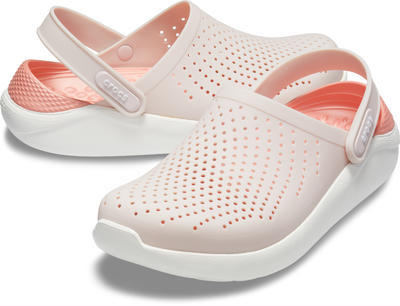 Boty LITERIDE CLOG M8/W10 barely pink/white, Crocs