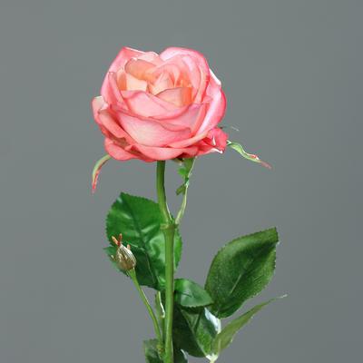 Květina RŮŽE 66 cm - růžová, DPI