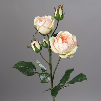 Květina RŮŽE 52 cm - lososová, DPI