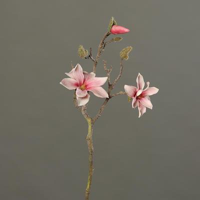 Větvička MAGNOLIE 48 cm - růžová/krémová, DPI