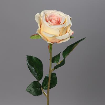 Květina RŮŽE 56 cm - lososová, DPI