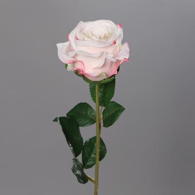Květina RŮŽE 56 cm - růžová, DPI