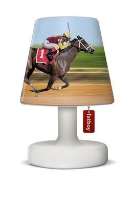 Stínítko na lampu FATBOY COOPER CAPPIE - Horse Race, Fatboy