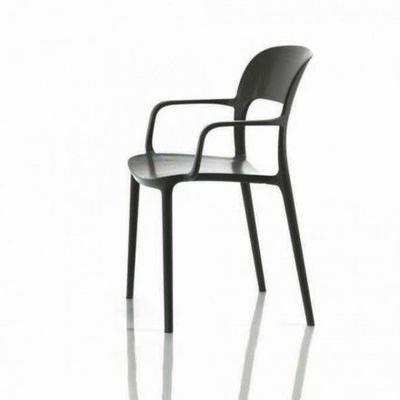 Židle s područkami GIPSY - anthracite, Bontempi