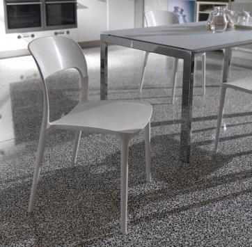 Židle bez područek GIPSY - sand, Bontempi