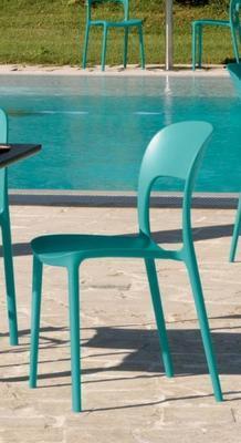 Židle bez područek GIPSY - torquoise, Bontempi