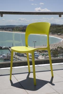 Židle bez područek GIPSY - lime yellow, Bontempi