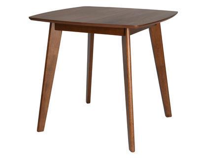 Stůl jídelní MDF WALNUT VENEER 80x75 cm, Kaemingk