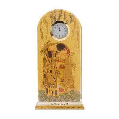 Hodiny stolní ARTIS ORBIS G. Klimt - The Kiss - 23 cm, Goebel