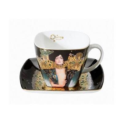Šálek a podšálek ARTIS ORBIS G. Klimt - Judith I - 250 ml, Goebel