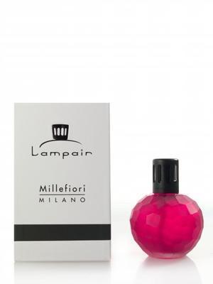 Katalytická lampa CARVED - Red, Millefiori