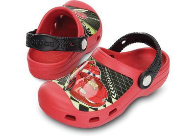 Boty CREATIVE LIGHTNING MCQUEEN CLOG J2 red, Crocs