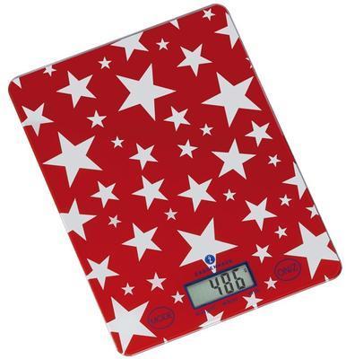 Digitální váha STARS červená, Zassenhaus
