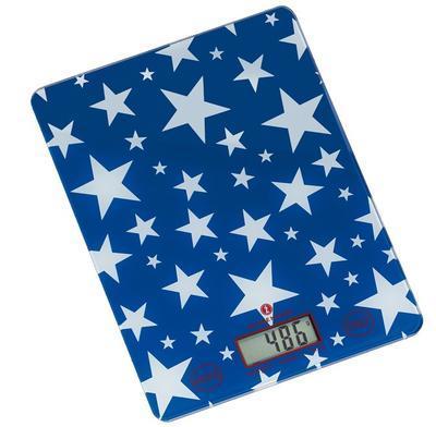 Digitální váha STARS modrá, Zassenhaus