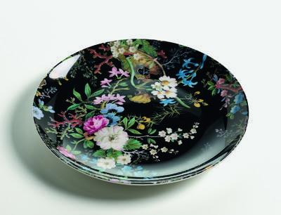 Talíř dezertní W. KILBURN 20 cm - Midnight Blossom, Maxwell & Williams