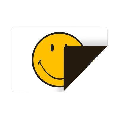 Prostírání oboustranné SMILEY 45x30 cm - bílá/černá, Zak!
