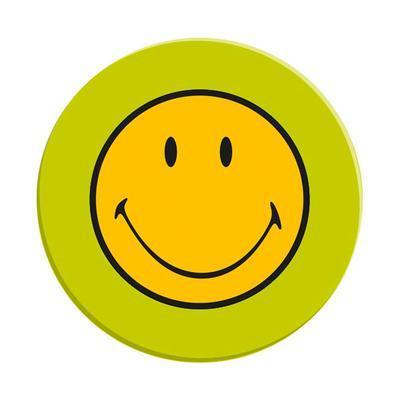 Talíř jídelní SMILEY 25 cm - zelená, Zak!