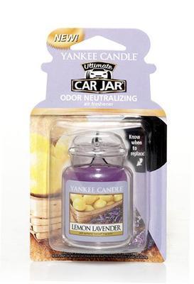 Vůně do auta Lemon Lavender, Yankee Candle