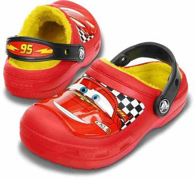 Boty CREATIVE MCQUEEN LINED CLOG J2 red, Crocs