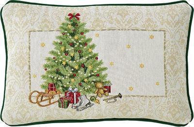 Vánoční polštář dekorační X-MAS EVE 32x48 cm - original, Sander
