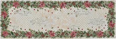 Vánoční prostírání POINSETTIA 32x48 cm - original, Sander