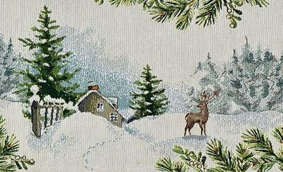Vánoční prostírání WONDERLAND 32x48 cm - original, Sander