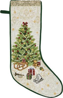 Vánoční punčocha na dárky X-MAS EVE 21x48 cm - original, Sander