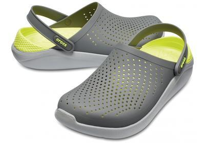 Boty LITERIDE CLOG M9/W11 slate grey/light grey, Crocs
