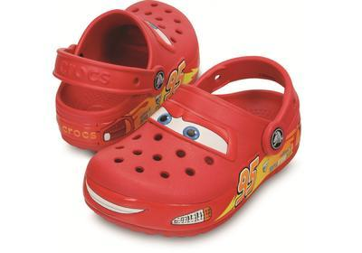 Boty LIGHTS CARS CLOG J1 red, Crocs