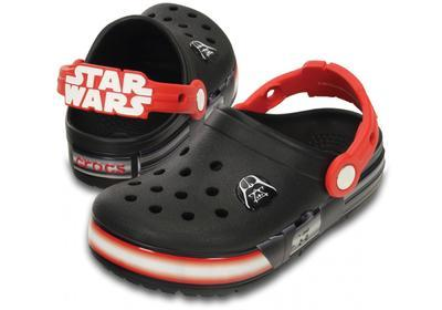 Boty CROCSLIGHTS STAR WARS DARTH VADER C10 black/flame, Crocs